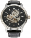Men's Vintage Analog Display Automatic Self Wind Black Watch