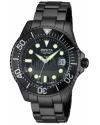 Men's Pro Diver Quartz 3 Hand Black Dial Watch