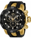 Men's Venom Quartz Stainless Steel and Silicone Casual Watch