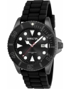 Men's Pro Diver Quartz Stainless Steel and Silicone Diving Watch
