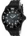 Men's Pro Diver Automatic Stainless Steel and Silicone Diving Watch, Charcoal Black