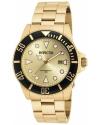 Men's Pro Diver Gold-Tone Steel Bracelet & Case Quartz Analog Watch
