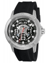 Men's Objet d'Art Automatic Stainless Steel and Silicone Casual Watch