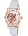 Women's Objet D Art Automatic Stainless Steel and Satin Casual Watch