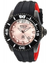 Men's Pro Diver Automatic Stainless Steel and Silicone Diving Watch