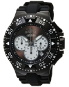 Men's 'Excursion' Quartz Stainless Steel and Silicone Casual Watch
