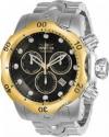 Men's Venom Quartz Chronograph Black Dial Watch