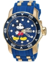 Men's Disney Limited Edition Quartz Stainless Steel and Silicone Casual Watch
