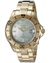 Men's Pro Diver Analog Display Automatic Self Wind Gold Watch