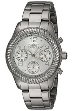 Invicta Women's 20265 Angel Analog Display Quartz Silver Watch