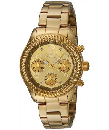 Women's Angel Gold-Tone Stainless Steel Watch