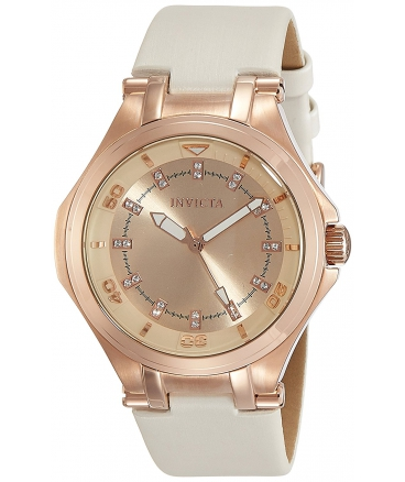 Women's Wildflower Quartz Stainless Steel and Polyurethane Casual Watch