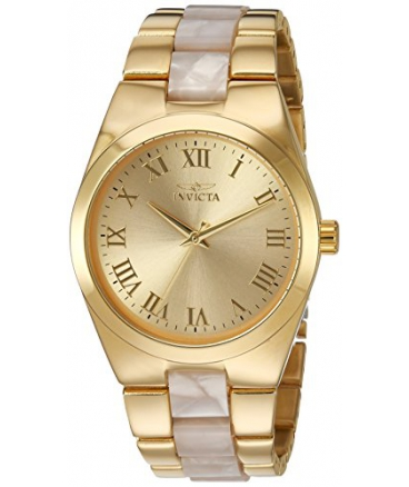 Women's Angel Quartz and Stainless Steel Casual Watch
