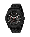Signature Chronograph Black Dial Mens Watch