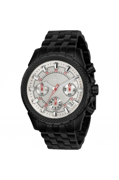 Signature Chronograph White Dial Mens Watch