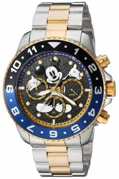 Men's Disney Limited Edition Quartz Stainless Steel Casual Watch