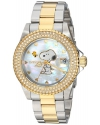 Invicta Women's 'Character Collection' Quartz Stainless Steel Casual Watch, Color:Two Tone (Model: 24810)