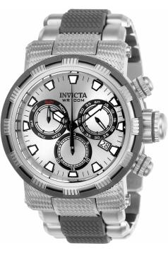 Men's Specialty Quartz Chronograph Silver Dial Watch