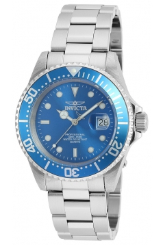 Men's Pro Diver Quartz Stainless Steel Diving Watch