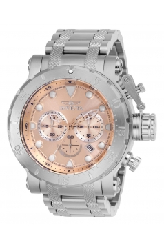 Men's Coalition Forces Quartz Chronograph Rose Gold Dial Watch