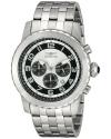 Men's Specialty Analog Display Japanese Quartz Silver Watch