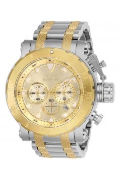 Men's Coalition Forces Quartz Chronograph Gold Dial Watch