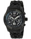 Men's 'Sea Spider' Quartz Stainless Steel and Polyurethane Casual Watch