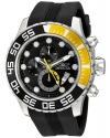 Men's 'Pro Diver' Quartz Stainless Steel and Polyurethane Casual Watch