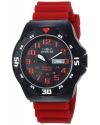 Men's 'Coalition Forces' Quartz Stainless Steel and Silicone Casual Watch