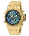 Men's Subaqua Gold-Tone Steel Bracelet & Case Swiss Quartz Watch