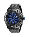 Men's Speedway Automatic 3 Hand Blue, Black Dial Watch