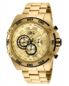 Men's Speedway Quartz Chronograph Gold Dial Watch