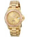 Men's Pro Diver 18k Yellow and Rose Gold Ion-Plated Stainless Steel Bracelet Watch