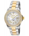 Angel Silver White Dial Ladies Watch