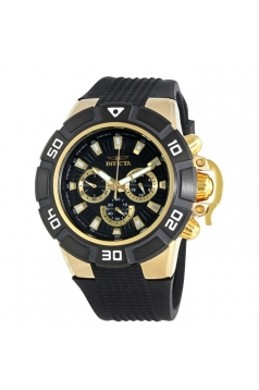 Men's 'I-Force' Quartz Stainless Steel and Silicone Casual Watch
