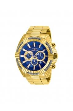 Bolt Chronograph Blue Dial Mens Watch