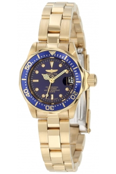 Women's Pro Diver Collection Gold-Tone Watch