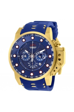 Men's I-Force Chrono Steel & Silicone Strap Watch