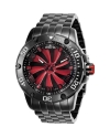 Men's Speedway Automatic 3 Hand Red, Black Dial Watch
