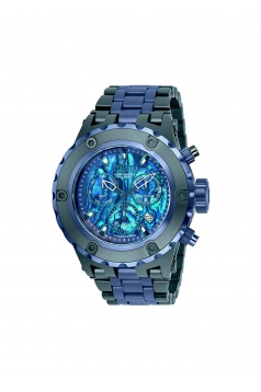 Reserve Chronograph Blue Dial Mens Watch