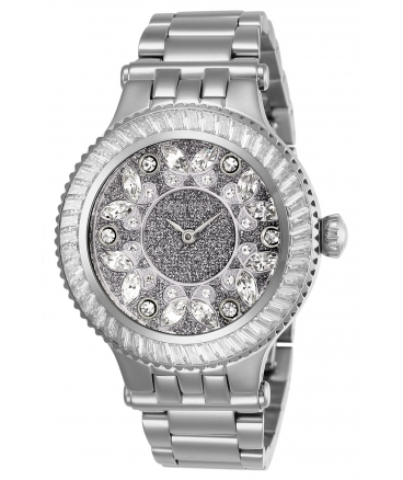 Women's Subaqua Quartz 2 Hand Silver Dial Watch