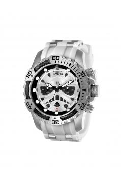 Men's Star Wars Quartz Multifunction Silver Dial Watch