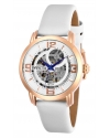Women's Objet D Art Automatic 3 Hand Silver Dial Watch