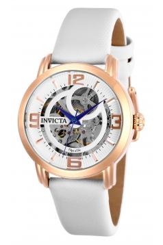 Women's Objet D Art Automatic 3 Hand Silver Dial Watch