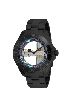 Men's Pro Diver Mechanical 2 Hand Green, Blue Dial Watch