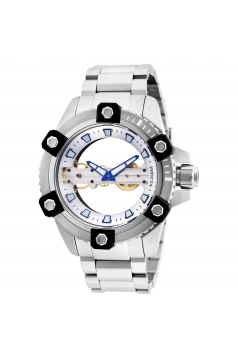 Men's Reserve Mechanical 2 Hand Silver Dial Watch