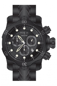 Men's Reserve Quartz Chronograph Black Dial Watch