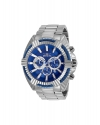 Bolt Chronograph Blue Dial Stainless Steel Mens Watch