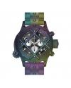 Men's Russian Diver Quartz Chronograph Black, Silver Dial Watch