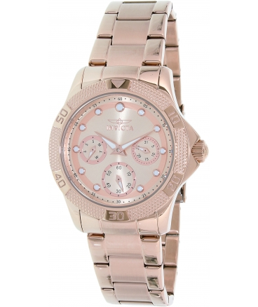 Women's 'Angel' Quartz Stainless Steel Casual Watch